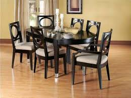 awesome dining room tables oval round tempered glass top dining