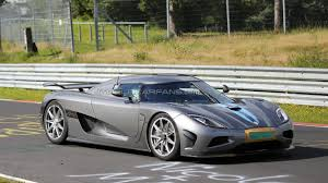 koenigsegg agera r 2017 koenigsegg agera r u0027development car u0027 spied on nürburgring