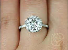 halo engagement rings rosados box kubian 8mm platinum f1 moissanite and diamonds