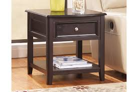 ashley furniture carlyle large leg desk carlyle end table ashley furniture homestore