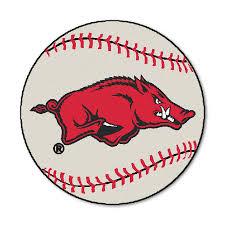 Baseball Area Rug Of Arkansas Baseball Area Rug Zokee