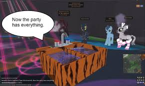 second life newser cartoon of the day literally the kitchen sink