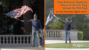 Us Flags Com How American Students React To The U S Flag Versus The Isis Flag