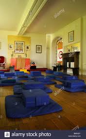 a buddhist meditation room stock photo royalty free image