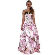 Dresses For Prom Pink Camo Dresses For Women