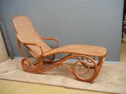 canap chaise longue lit no 2 de thonet ou chaise longue