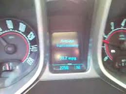 camaro v6 mpg gas mileage of a 2010 camaro