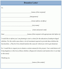 donation request letter format choice image letter samples format