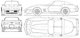 lamborghini aventador drawing outline 1973 chevrolet corvette c3 coupe blueprints free outlines