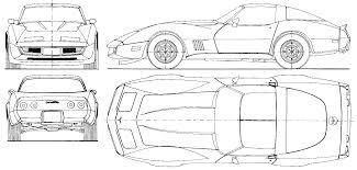 lamborghini aventador drawing outline 1973 chevrolet corvette c3 coupe blueprints free outlines