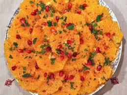 recette cuisine marocaine salade d orange aux olives recettes de salades cuisine marocaine