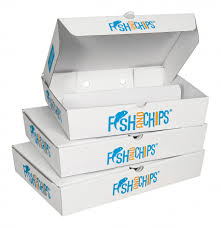 the new exciting hook and fish for fish and chips packaging range