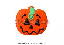 Halloween Pumpkin Sugar Cookies - cookies halloween pumpkin shaped sugar stock images royalty free