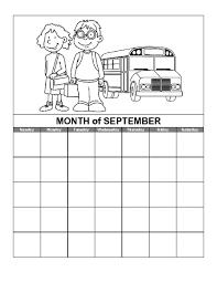 calendars teacher calendar template september calendar template education world