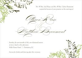 26 fall wedding invitation templates free sle exle