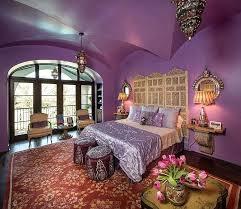 Moroccan Bedroom Designs Moroccan Bedroom Ideas View In Gallery Purple Is A Hue Of