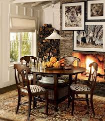 Traditional Dining Room Furniture Furniture Fall Decoration Of Table Centerpiece Idea For A