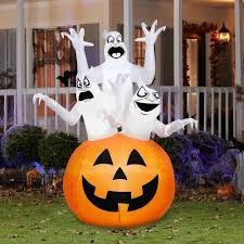 Inflatable Halloween Decorations 27 Best Inflatable Halloween Witch Airblown Led Lighted Decoration