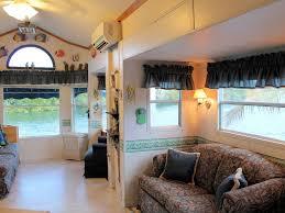 Wohnzimmer M El Schwebend Mobilheim Direkt Am Strand Auf Den Key Largo Mieten 235636