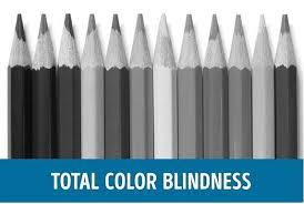 Deuteranopia Color Blindness Color Blindness Demonstration Using Coloured Pencils