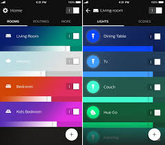best app for hue lights philips launches new hue app with reved look and support for