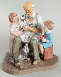 norman rockwell club norman rockwell annual figurine at
