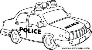 Newyork Police Car Coloring Pages Printable Cars Coloring Pages