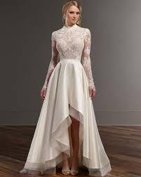 stunning berta bridal gown low back long sleeve designer wedding