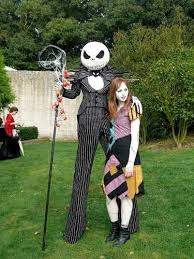 skellington and sally costumes nightmare before