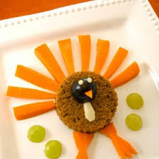 thanksgiving carrot side dish recipe carrot and pumpkin turkey snack parenting