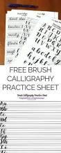 updates free brush calligraphy practice sheet free brushes