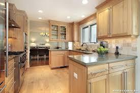 cuisine couleur bois peinture cuisine bois rustique argileo