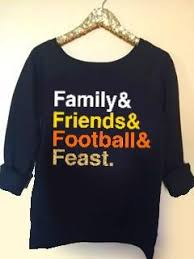 thanksgiving tshirt family friends football and feast thanksgiving list shirt
