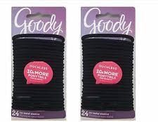 goody hair ties goody hair ties pkgs ouchless no metal elastics ponytail holders