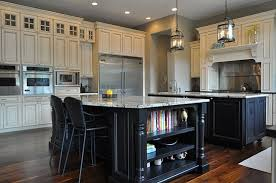 white kitchen with black island black kitchen island design kitchentoday