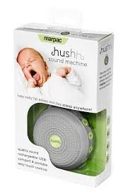marpac hushh for baby portable white noise sound