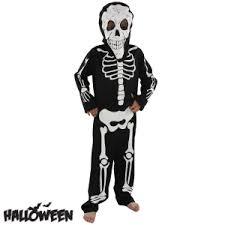 Skeleton Jumpsuit Buy Halloween Skeleton Jumpsuit With Mask At Home Bargains