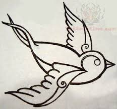 16 best bird outline tattoo designs images on pinterest bird