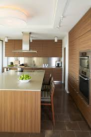 Horizontal Kitchen Cabinets Vertical Or Horizontal Match Walnut Veneer For A Small Kitchen