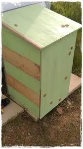 fabrication de coffre en bois coffre pour bouteille de gaz lilablou