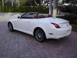 purchase used 2002 lexus sc430 sc 430 convertible white saddle 1