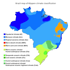 Current Temperature Map Usa by Climate Of Brazil Wikipedia