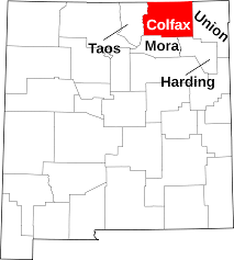 Map Of Taos New Mexico by File Map Of New Mexico Highlighting Colfax County Svg Wikimedia