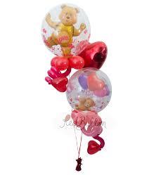 teddy balloons teddy valentines day balloons