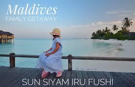 maldives island getaway for the whole family blue abaya