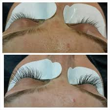 before and after semi permanent mink eyelash extension deal price