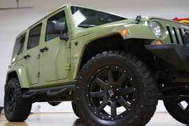 wrangler jeep green 2013 jeep wrangler unlimited moab sahara for sale lifted commando