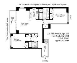 chrysler building floor plans 325 fifth avenue murray hill manhattan scout