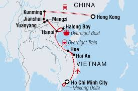 Kunming China Map by Is Vietnam Friendly Intrepid Travel Be
