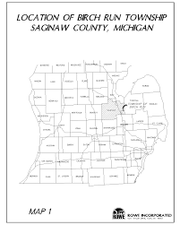 Michigan Township Map by Birch Run Township Mi Building Zoning Administration
